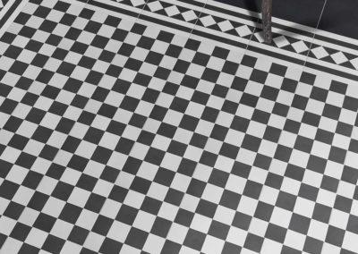 Ca Pietra Encaustic Chequer Floor