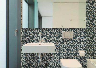 Ca Pietra Encaustic Splash Jade Floor & Wall
