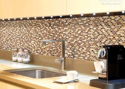 Dahli Beige Brick Mosaic