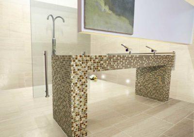 Marshalls Mosaics Santa Capa SC Glass Mosaic