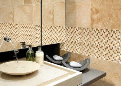 Marshalls Mosaics Tivana Safiya Gold Etched Mosaic 2