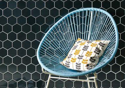 Original Style - Glassworks - Hera Hexagon mosaics - GW-HERHEXMOS portrait 2