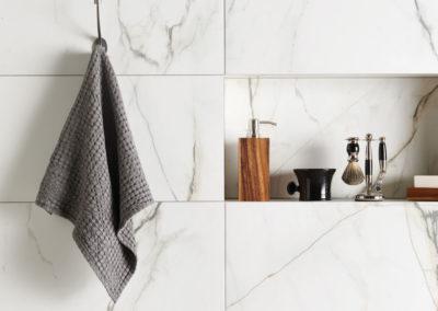 Original Style Tileworks Marble Carrara Bianco Paonazzetto Natural