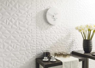 Porcelanosa Venis revestimiento ceramica prisma white matt