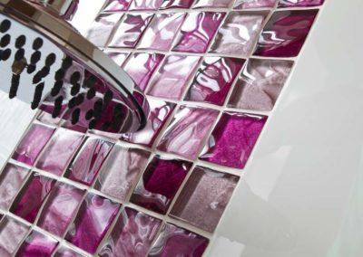 Textured Pinks Shower