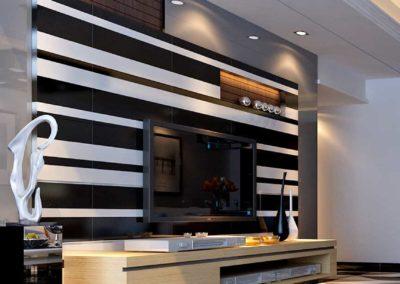 Milan Tiles Jet Black Gloss