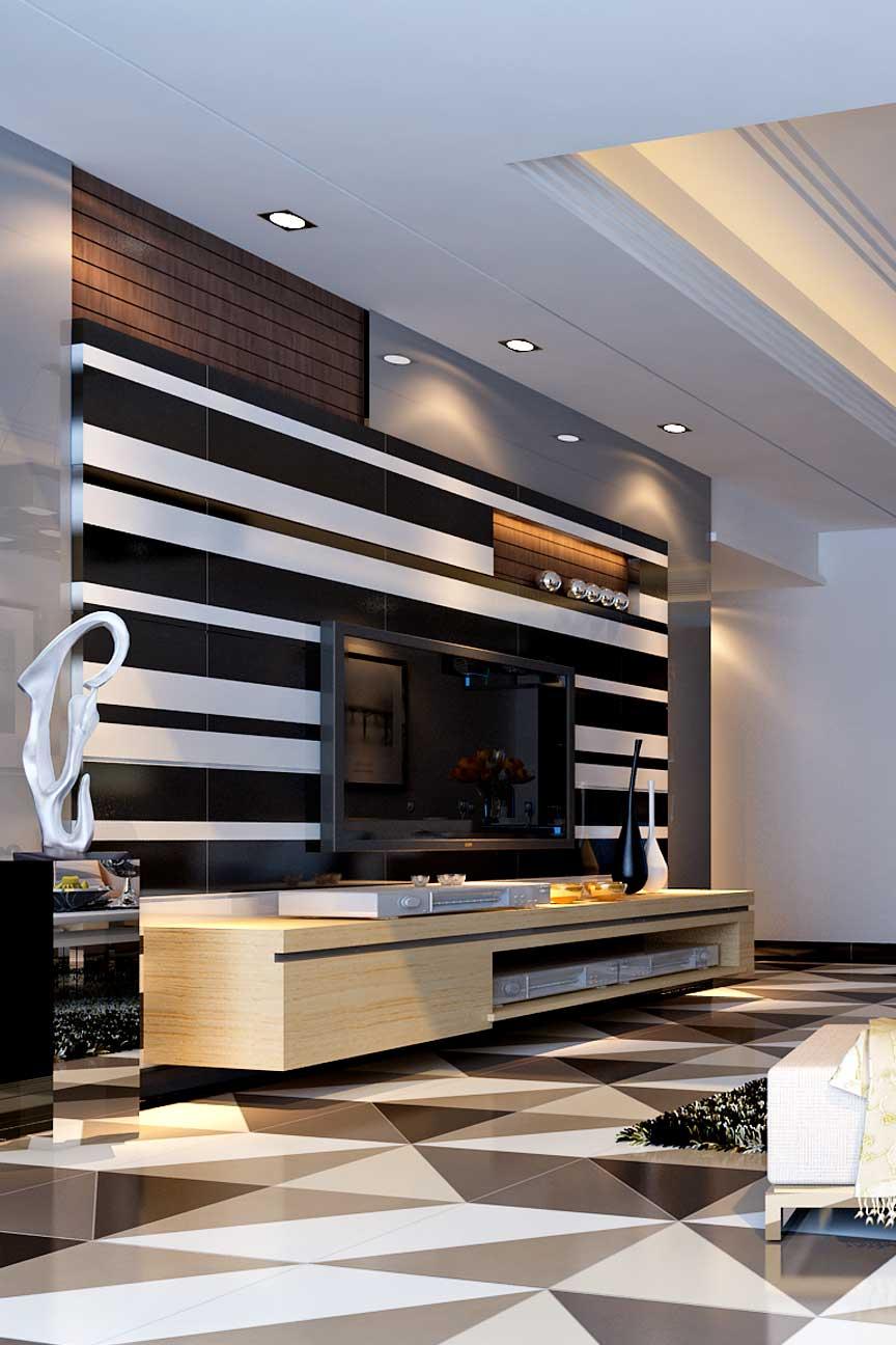 Milan Tiles Jet Black Gloss Spacers Showrooms