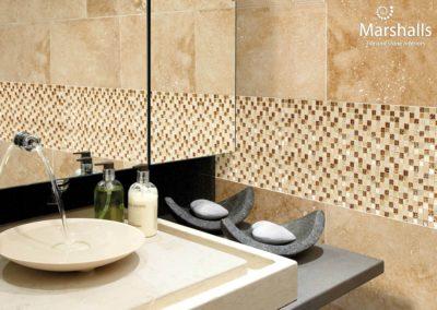 Tivana Safiya Gold Etched Mosaic