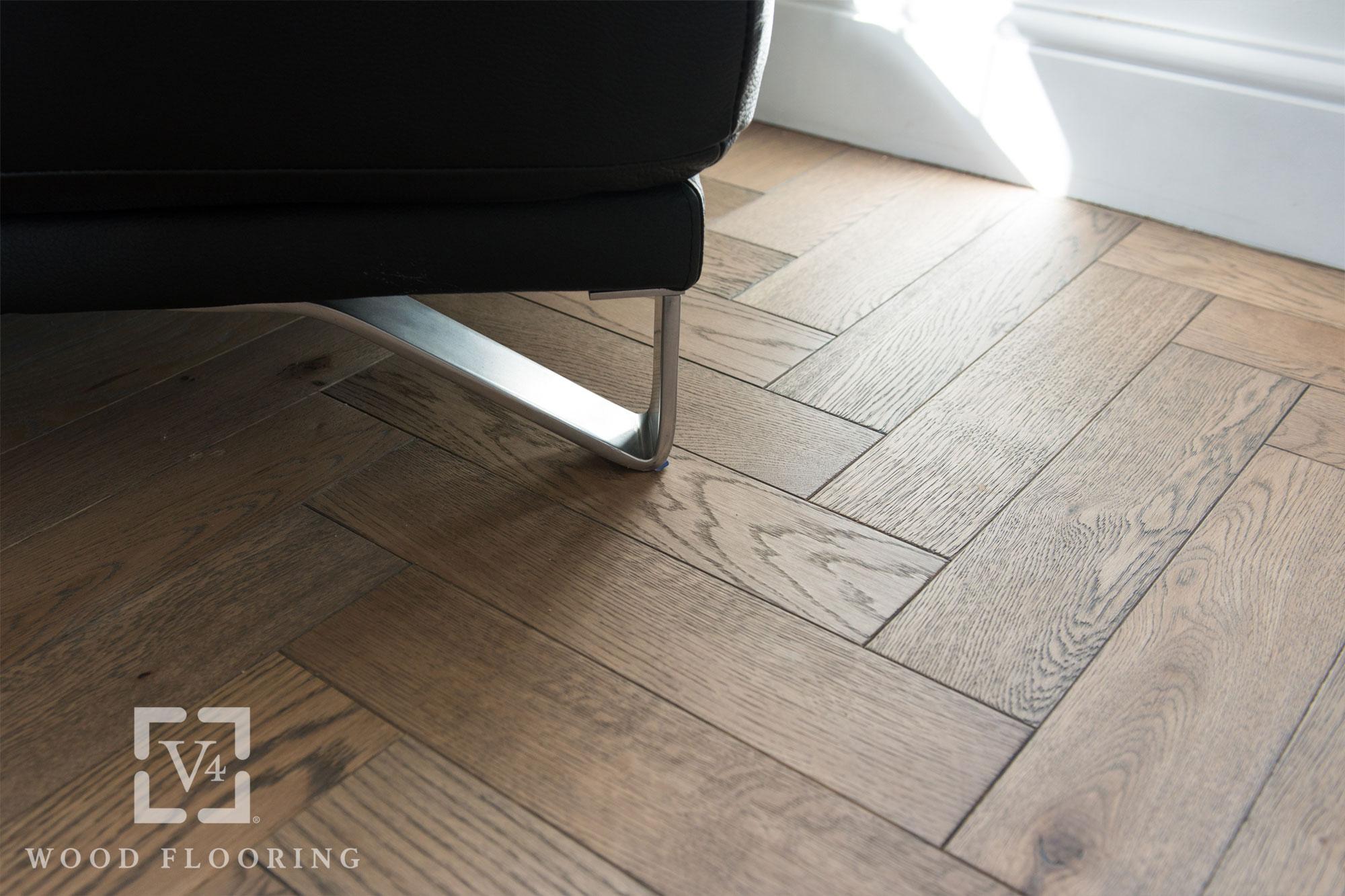 V4 London Wood Flooring Zigzag Zb101