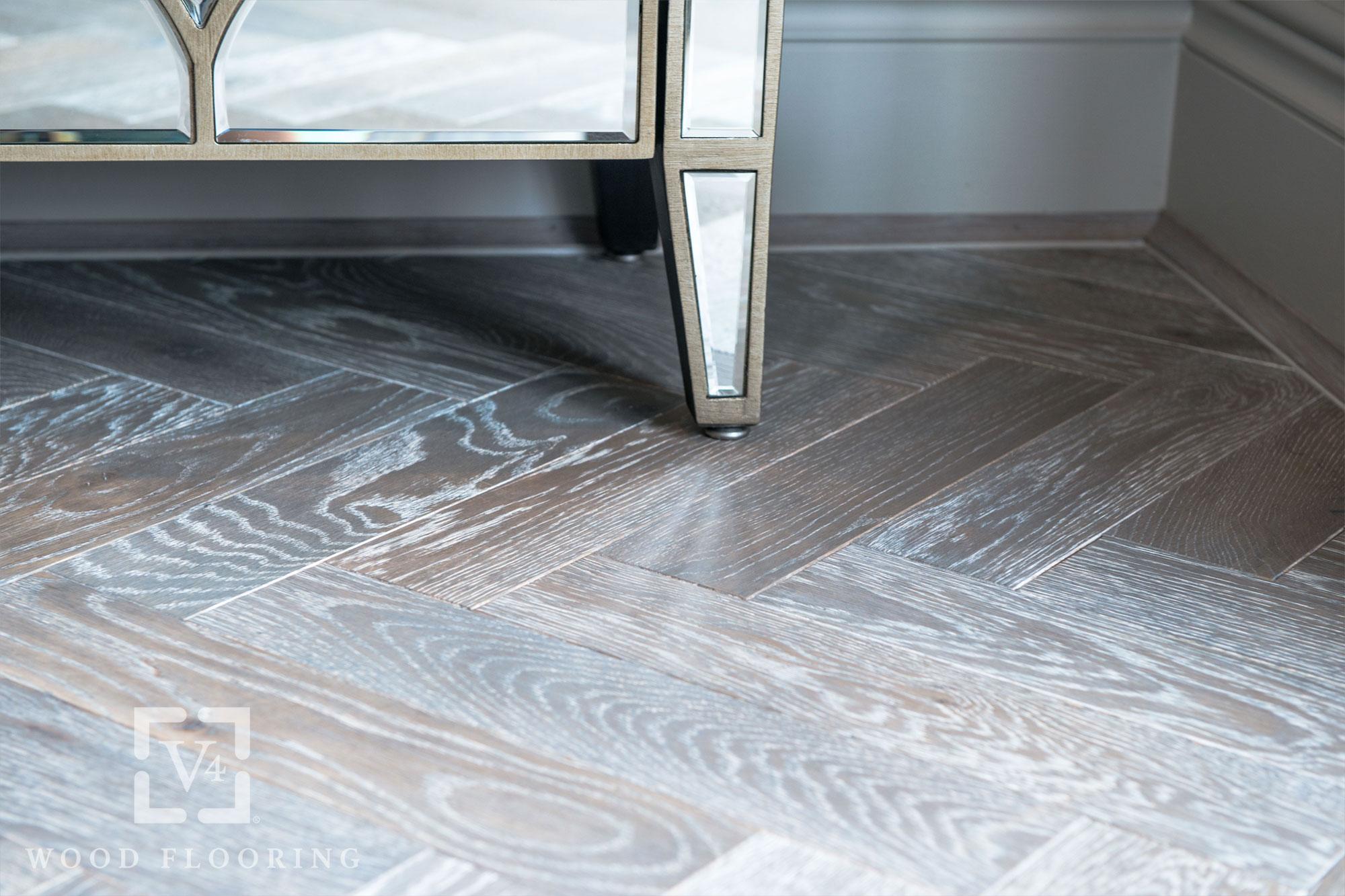 V4 London Wood Flooring Zigzag Zb103