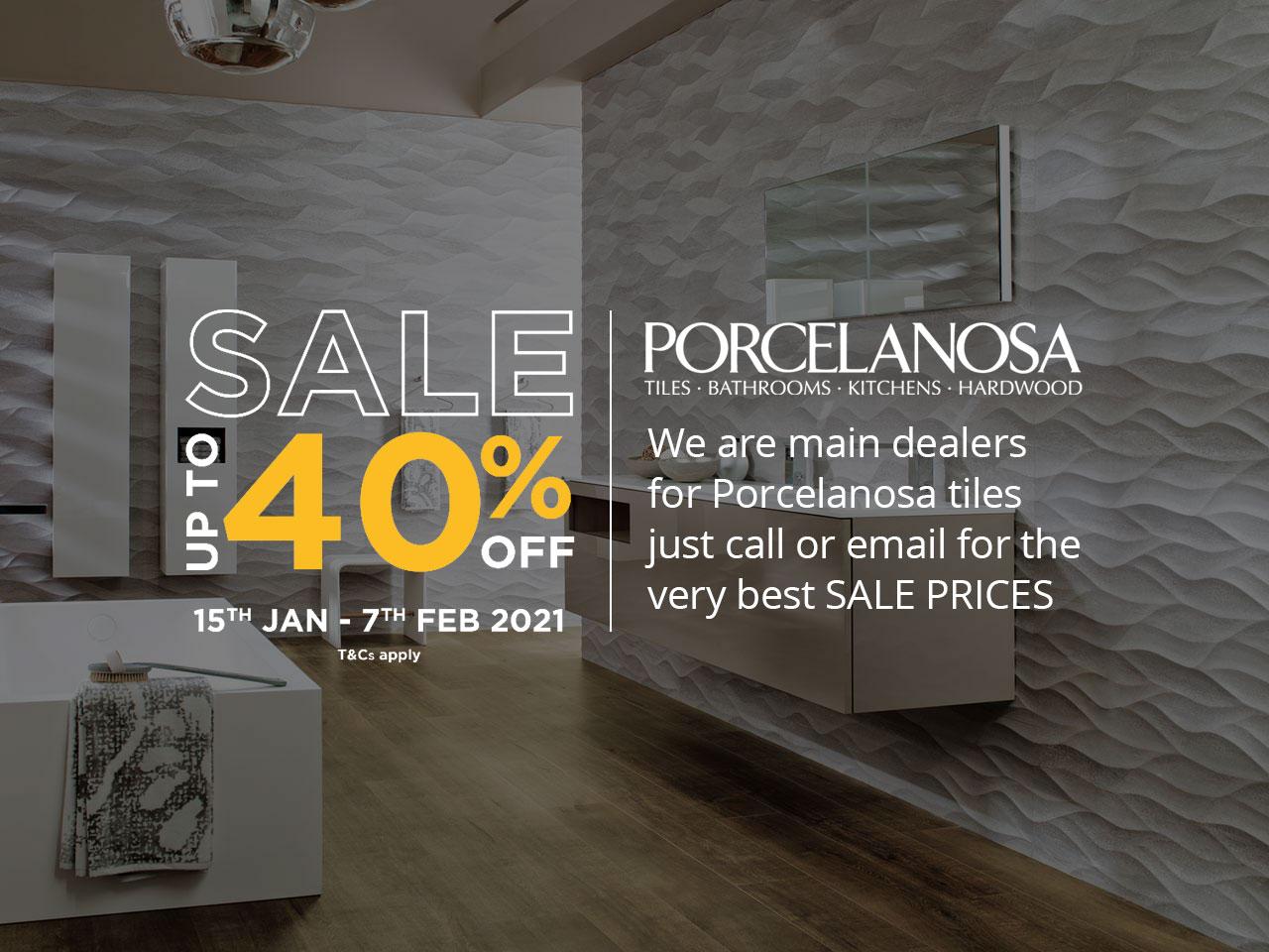 Porcelanosa Tiles Sale Up To 40% OFF